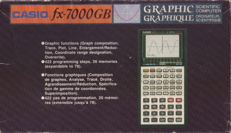 Descargue manuales de instrucciones Casio FXG Calculadoras